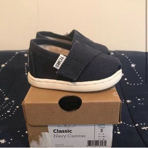 Baby Toms Navy Blue - toddler 3